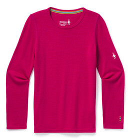 Smartwool Merino 250 Maglietta Girocollo Baselayer Bambino, very berry heather